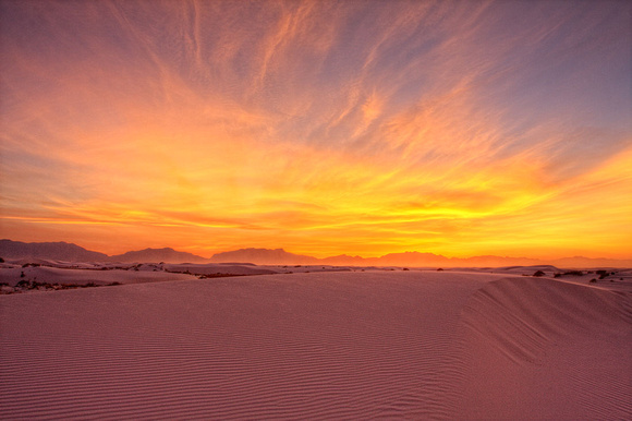Great Sands Sunset